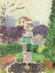 Jardin de l'artiste à Issy-les