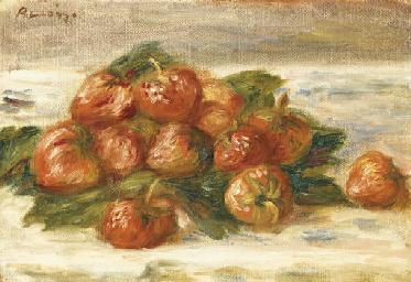 Nature morte aux fraises