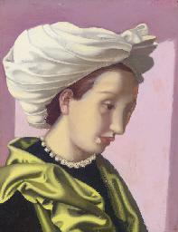 Femme au turban blanc II