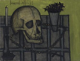 Nature morte avec crâne