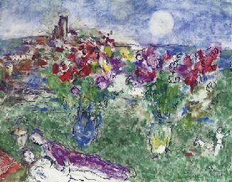 Amoureux et fleurs à Saint-Pau