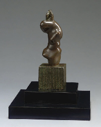 Maquette for Three-Quarter Fig