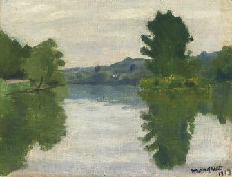 La Marne au parc Saint-Maur