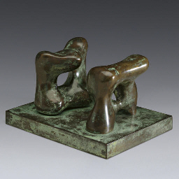 Maquette for Two Large Forms