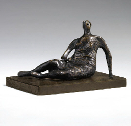 Maquette for Draped Reclining