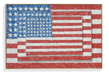 Jasper Johns (Three Flags), 19