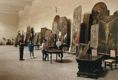 The Art Restorers, San Lorenzo