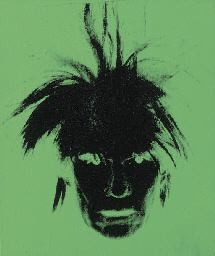 Self-portrait (Fright-Wig)
