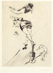 Der Akrobat mit der Geige (Kor