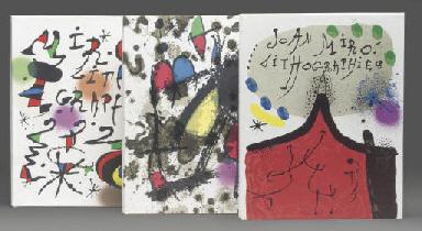 Joan Miró lithographe [Vols. I