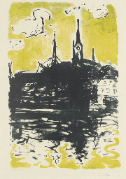 Kirche und Schiff, Sonderburg