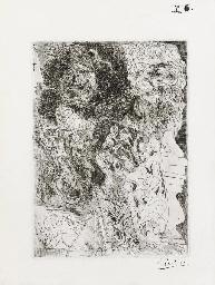 Rembrandt à la palette, Plate