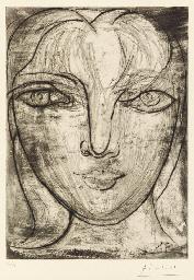 Tête de face (B. 276; Ba. 417)