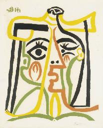 Tête de femme (B. 1067; Ba. 12
