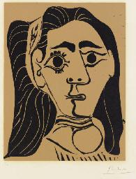 Femme aux cheveux flous (B. 10