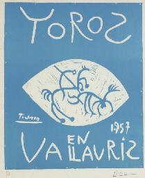 Toros en Vallauris 1957 (B. 12