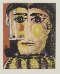 Tête de femme No 5. Portrait d