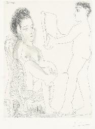 Jeune homme présentant un miro