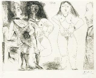 Degas chez les filles. La note