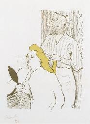 Le coiffeur (Delteil 14; Wittr