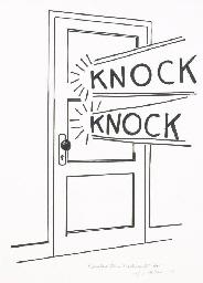 Knock, Knock Poster (C. App.8)