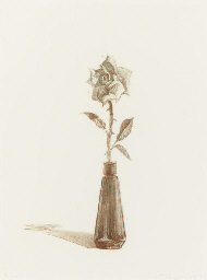 Rose, from Recent Etchings II
