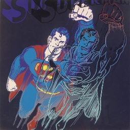 Superman, from Myths (F. & S.