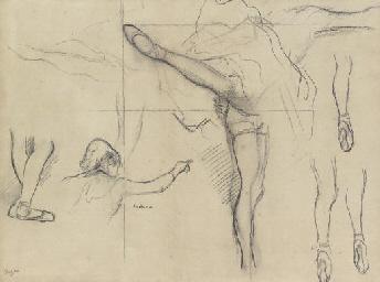 Danseuse--six croquis