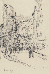 Scène de rue, Lisieux