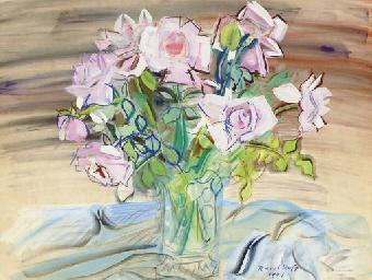 Roses dans un vase