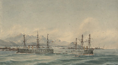 H.M. Ships Hercules and Northu