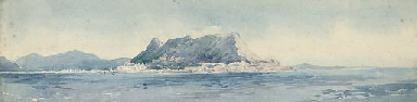 'The Rock', Gibraltar