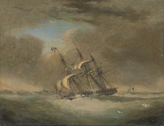 H.M.S. Warspite, as a frigate,