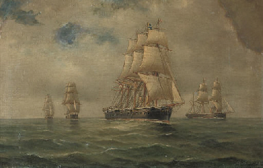 H.M.S. Northumberland and othe