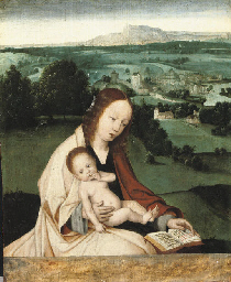 The Virgin and Child with an e