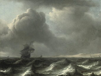 A 'wijdschip' in choppy waters
