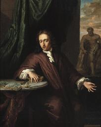 Portrait of a goldsmith, three