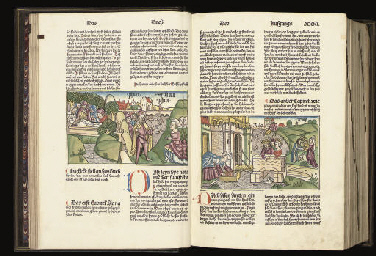 BIBLE, IN GERMAN. Nuremberg: Anton Koberger, 17 February 1483.