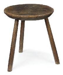 AN ENGLISH ASH CRICKET TABLE