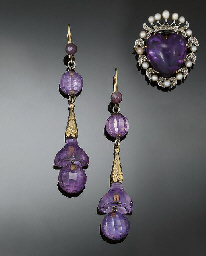 An early 20th century amethyst