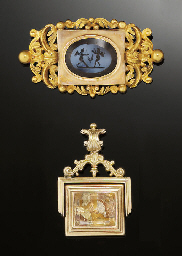 An early 19th century intaglio