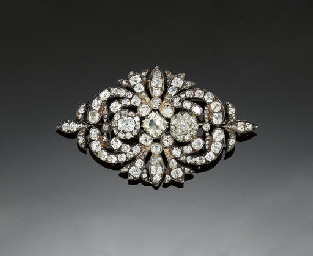 AN EARLY 19TH CENTURY DIAMOND