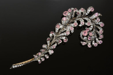 A late 19th century brooch