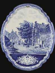 PLAQUE EN FAIENCE HOLLANDAISE