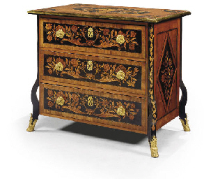 COMMODE DE STYLE LOUIS XIV