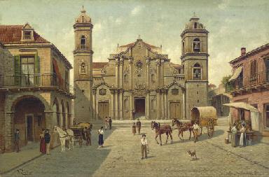 Cuba- Cathédral de la Havane