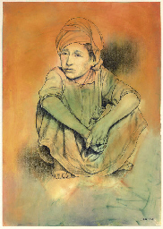 Untitled (Boy with Turban)