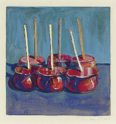 Six Candied Apples