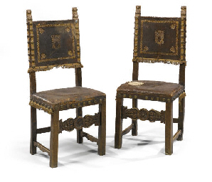 A PAIR OF ITALIAN WALNUT, PARC