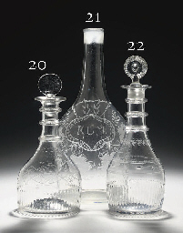 AN IRISH (CORK GLASS CO.) MOUL